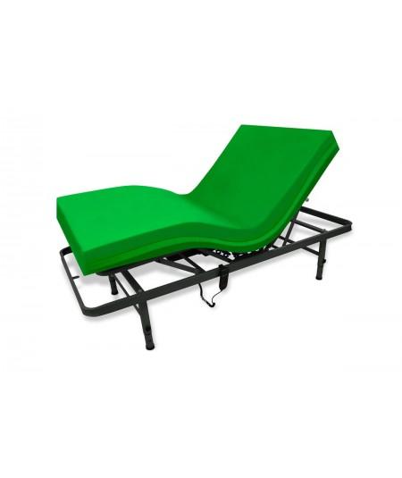 Cama medical con colchón