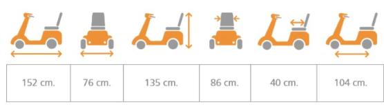 ficha tecnica de la scooter dakar duo de teyder