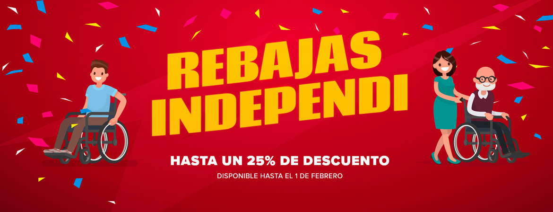 Rebajas Independi - Ortopedia online - Primeras marcas