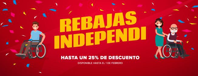 Independi - Ortopedia online - Primeras marcas