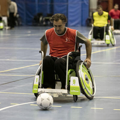 Fútbol en silla