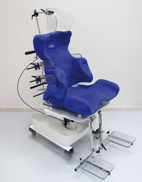 Ortho'Spa, sistema de escaneado en una silla para las personas que padecen discapacidad motora.