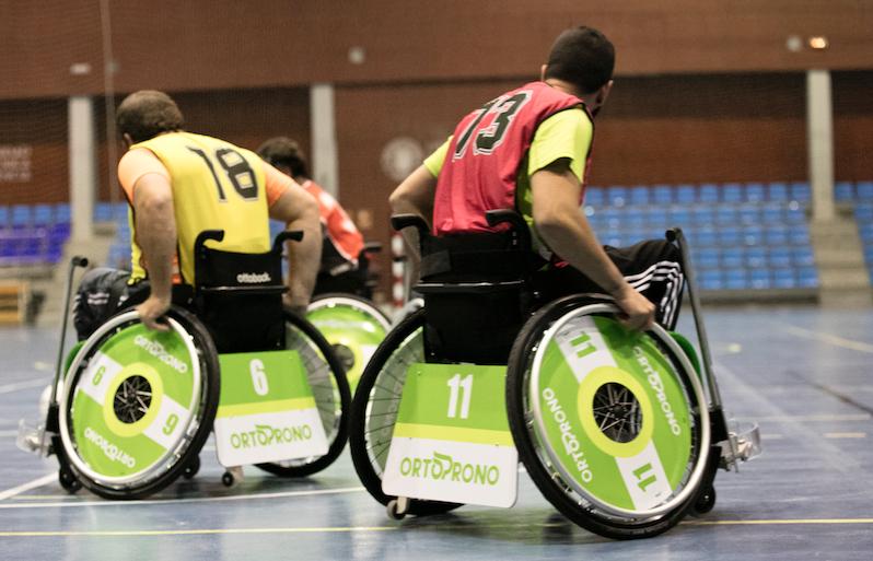 Fútbol en silla Deporte adaptado
