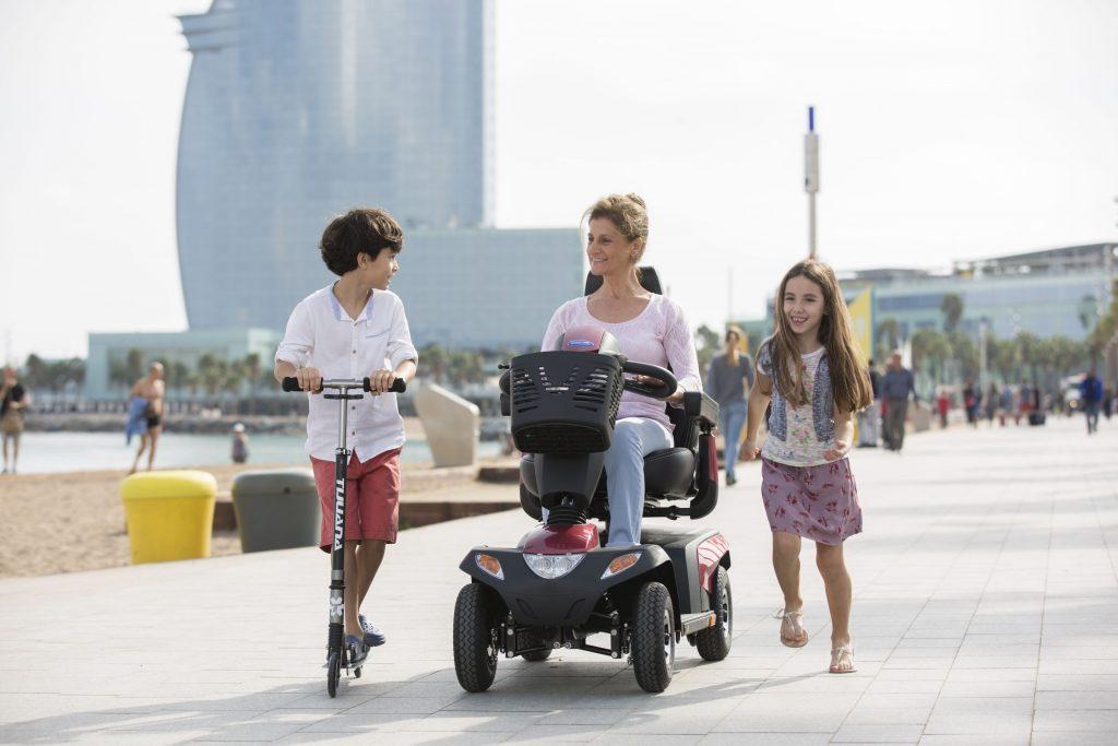 Promoción scooters Invacare en ortopedias Ortoprono
