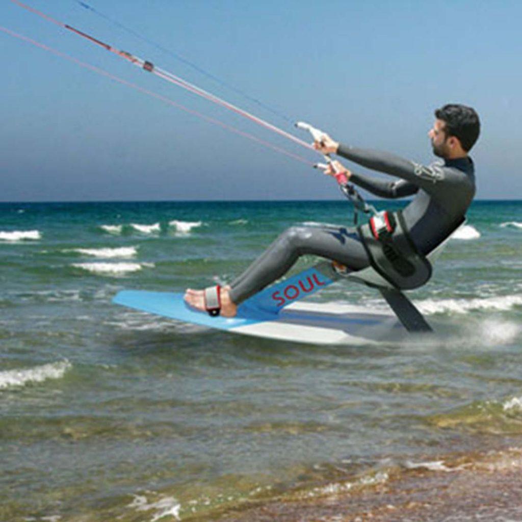 Kitesurf adaptado Deportes náuticos adaptados