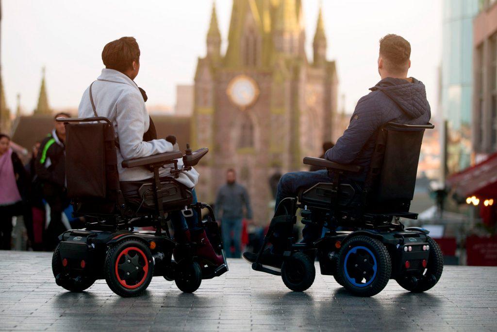 Elegir silla de ruedas eléctrica
